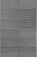 Teppich Velvet wool/petrol blue 160x230cm, 160 x