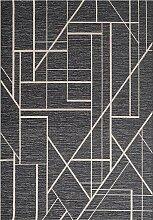 Teppich Velvet wool/petrol blue 160x230cm,