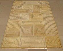 Teppich/Verdickt Verschlüsselung kontinentalen Wohnzimmer Couchtisch Schlafzimmer Teppich-A 120x170cm(47x67inch)