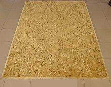Teppich/Verdickt Verschlüsselung kontinentalen Wohnzimmer Couchtisch Schlafzimmer Teppich-A 140x200cm(55x79inch)