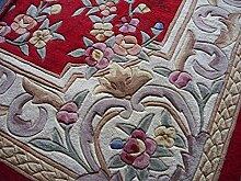 Teppich/Verdickte Verschlüsselung kontinentalen Wohnzimmer Couchtisch Schlafzimmer Teppich-A 160x230cm(63x91inch)