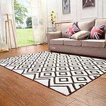 Teppich/[Verdickte Wohnzimmerteppich]/Table kontinentalen Bett Schlafzimmer Teppich-G 160x230cm(63x91inch)