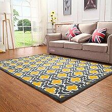 Teppich/[Verdickte Wohnzimmerteppich]/Table kontinentalen Bett Schlafzimmer Teppich-Q 140x200cm(55x79inch)