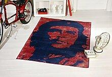 Teppich Vintage Flagge Che Guevara 120X170