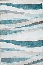 Teppich Wave, petrol (80/150 cm)
