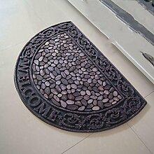 Teppich weich und bequem / stilvollFamilienbedarf Continental Fußmatte Staub Absorptionsmatte Eingangsmatten Tür Kissen Familienbedarf
