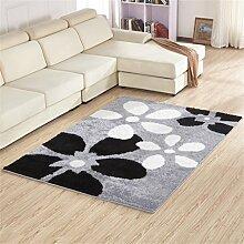 Teppich weich und bequem / stilvollFamilienbedarf Dick Ultra-kompakte im europäischen Stil Modern Minimalist Wohnzimmer Couchtisch Teppich, Schlafzimmer voller Teppiche, Bettdecke / Matratze / Matte Teppich Familienbedarf ( farbe : #16 , größe : 1.2*1.7m )