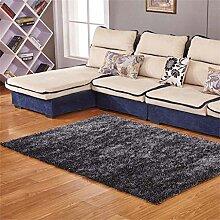 Teppich weich und bequem / stilvollFamilienbedarf Dick Ultra-kompakte im europäischen Stil Modern Minimalist Wohnzimmer Couchtisch Teppich, Schlafzimmer voller Teppiche, Bettdecke / Matratze / Matte Teppich Familienbedarf ( farbe : #1 , größe : 1.4*2m )