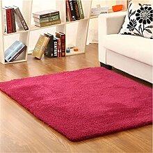 Teppich weich und bequem / stilvollFamilienbedarf Dick Ultra-kompakte im europäischen Stil Modern Minimalist Wohnzimmer Couchtisch Teppich, Schlafzimmer voller Teppiche, Bettdecke / Matratze / Matte Teppich Familienbedarf ( farbe : #3 , größe : 1.4*2m )