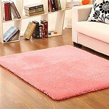 Teppich weich und bequem / stilvollFamilienbedarf Dick Ultra-kompakte im europäischen Stil Modern Minimalist Wohnzimmer Couchtisch Teppich, Schlafzimmer voller Teppiche, Bettdecke / Matratze / Matte Teppich Familienbedarf ( farbe : #1 , größe : 1.2*1.6m )