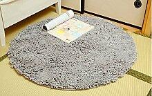 Teppich weich und bequem / stilvollFamilienbedarf Eindickung Chenille Rund Teppich Anti-Blockier-System Study Computer Stuhl Decke hängenden Korb Aufzüge Teppich Familienbedarf ( Farbe : # 3 , größe : 120x120cm )