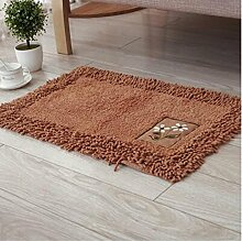 Teppich weich und bequem / stilvollFamilienbedarf Fußbodenmatratze Matratze Schlafzimmer Nachttisch Teppich Wohnzimmer Hall Matte Ottomans Badezimmer Badezimmer Wasser Anti - Rutsch Familienbedarf ( Farbe : C , größe : 45*70cm )
