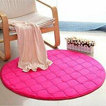 Teppich weich und bequem / stilvollFamilienbedarf Heimtextilien Runde Teppiche Full Shop Moderne Minimalist Couchtisch Sofa Korb Große Teppich Schlafzimmer BlanketComputer Stuhl Matten Familienbedarf ( Farbe : #9 , größe : 60*60cm )
