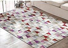 Teppich weich und bequem / stilvollFamilienbedarf Moderne Einfache Teppich Wohnzimmer Couchtisch Schlafzimmer Teppich Familienbedarf ( Farbe : # 4 )