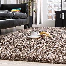 Teppich weich und bequem / stilvollFamilienbedarf Modernes unbedeutendes Wohnzimmer Teppichgeschäft für Heim Schlafzimmer Nacht Decke Nordic European American Büro Couchtisch Matte (Farbe: braun) Familienbedarf ( größe : 120CM × 160CM )