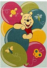 Teppich Winnie in Blau/Rosa/Grün