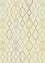 Teppich Wohnzimmer Carpet modernes Design FOCUS LINEA RUG 100% Polypropylen 80x150 cm Rechteckig Mehrfarbig | Teppiche günstig online kaufen