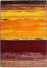 Teppich Wohnzimmer Carpet modernes Design Streifen RUG Artist 115 Sunrise 120x170cm | Teppiche günstig online kaufen