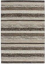 Teppich Wohnzimmer Carpet modernes Design Streifen RUG Jupiter 324 Sand 160x230cm | Teppiche günstig online kaufen