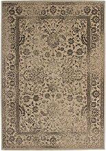 Teppich Wohnzimmer Carpet modernes Design Vintage RUG Fame 533 Creme 120x170cm | Teppiche günstig online kaufen