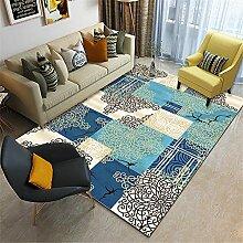 Teppich Wohnzimmer Couch Geometrisches
