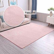 Teppich Wohnzimmer einfarbig einfache Sofa
