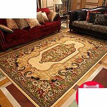 Teppich/Wohnzimmer europäischen Stil Villa Schlafzimmer Bettvorleger/ American Teppich-A 170x250cm(67x98inch)