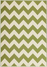 Teppich Wohnzimmer modern Carpet geometrisches Design RUG Manolya 2095 Grün 160x230cm | Teppiche günstig online kaufen