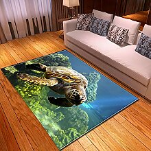 Teppich Wohnzimmer,Moderne Ozean Thema Kunstdruck