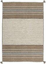 Teppich Wohnzimmer Orient Carpet klassisches Design RUG Alhambra 335 Elfenbein 100% Baumwolle 160x230cm | Teppiche günstig online kaufen