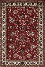Teppich Wohnzimmer Orient Carpet klassisches Design RUG Asia 03 Rot 80x250cm | Teppiche günstig online kaufen