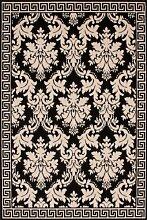 Teppich Wohnzimmer Orient Carpet klassisches Design RUG Funky 1068 Silber 120x170cm | Teppiche günstig online kaufen