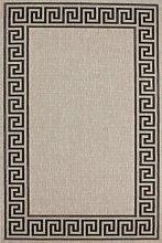 Teppich Wohnzimmer Orient Carpet klassisches Design RUG Sweden-Malmö Silber 80x150cm   Teppiche günstig online kaufen