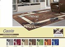 Teppich Wohnzimmer Position Oasis 65x110-2 bordeaux