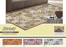 Teppich Wohnzimmer Position Sirtaki 115x175 Arancio