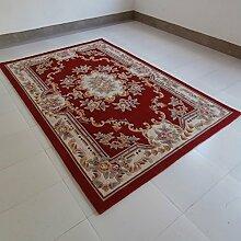 Teppich/Wohnzimmer Sofa und Schlafzimmer Teppich/Dicke Mode im chinesischen Stil Blumenteppich-A 160x230cm(63x91inch)