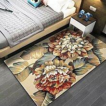 Teppich Wohnzimmerteppich,Vintage Braune