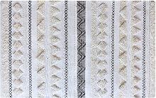 Teppich Wolle und Pailletten 160x230cm LENITY