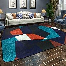 Teppich Zimmer Teppich Nachttisch Home Rechteckigen Wohnzimmer Schlafzimmer Couchtisch Sofa Europäischen Mode 120 Cm × 180 Cm ( Farbe : B )