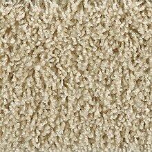 Teppichboden Auslegware Hochflor Shaggy Langflor Velour beige 400 und 500 cm breit, verschiedene Längen