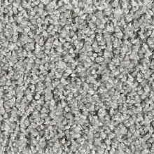 Teppichboden Auslegware Hochflor Shaggy Langflor Velour grau 400 und 500 cm breit, verschiedene Längen