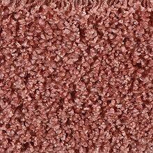 Teppichboden Auslegware Hochflor Shaggy Langflor Velour rot 400 und 500 cm breit, verschiedene Längen