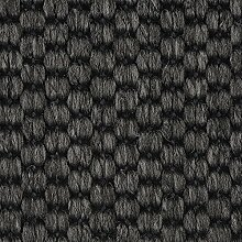 Teppichboden Auslegware Meterware Flachgewebe-Schlinge anthrazit schwarz 400 und 500 cm breit, verschiedene Längen
