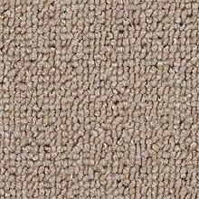 Teppichboden Auslegware Meterware Schlinge beige