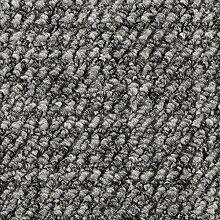 Teppichboden Auslegware Meterware Schlinge gemustert grau 400 und 500 cm breit, verschiedene Längen