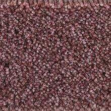 Teppichboden Auslegware Meterware Velour meliert lila pink 400 cm und 500 cm breit, verschiedene Längen