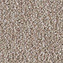 Teppichboden Frise in Hellbraun   weiche &