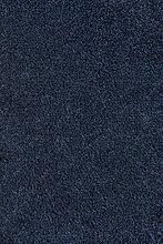 Teppichboden Rollware Fertigteppich Wohnzimmerteppich Kurzflorteppich Auslegware Meterware Bodenbelag Bodenteppich zuschneidbar Schlafzimmer Kinderzimmer VliesteppichVerloursteppichboden dunkelblau 550 x 400 cm