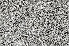 Teppichboden Shaggy Hochflorteppich Bodenbelag Auslegware Uni grau 400 x 400 cm. Weitere Farben und Größen verfügbar