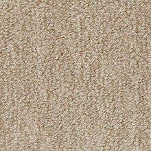 Teppichboden Velours Meliert in Beige | weiche &